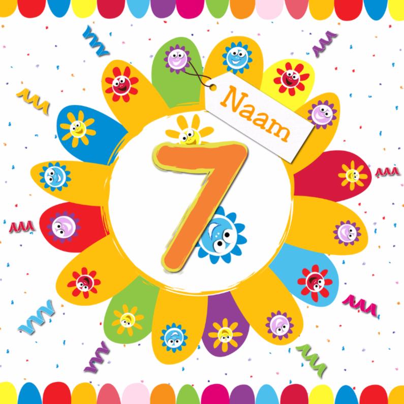 verjaardag kind 7 jaar Uitnodiging Verjaardag Kind 7 Jaar   ARCHIDEV verjaardag kind 7 jaar