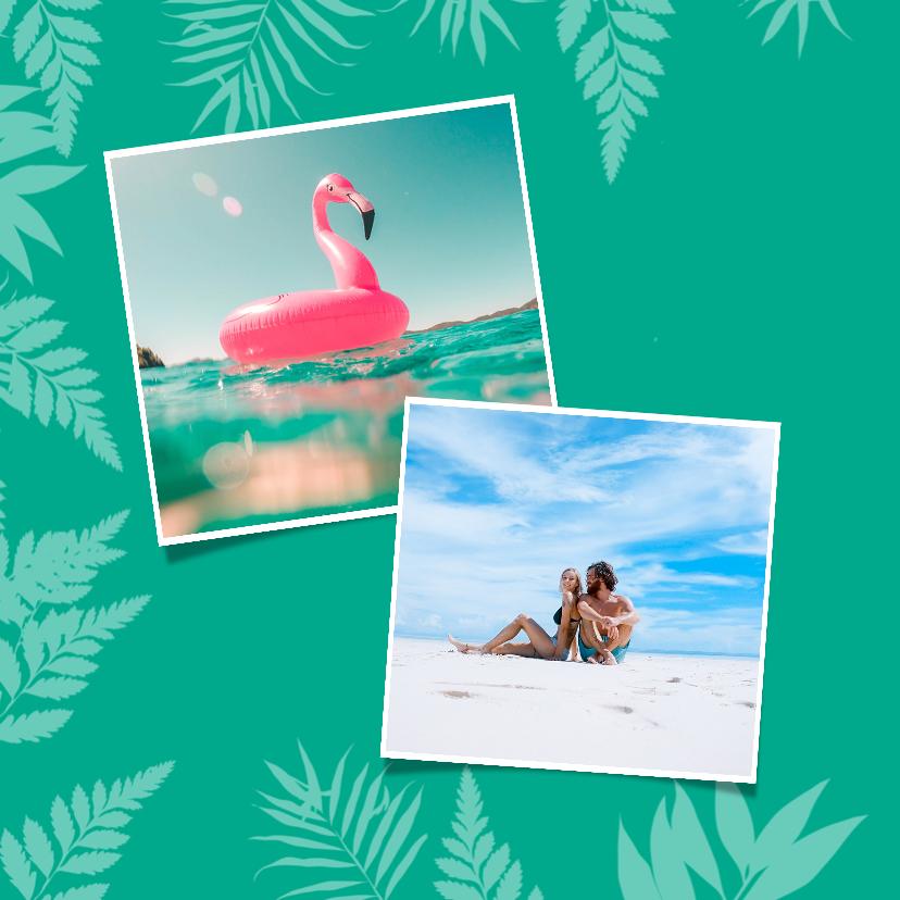 Zonnige vakantiegroeten voor een strandvakantie 2