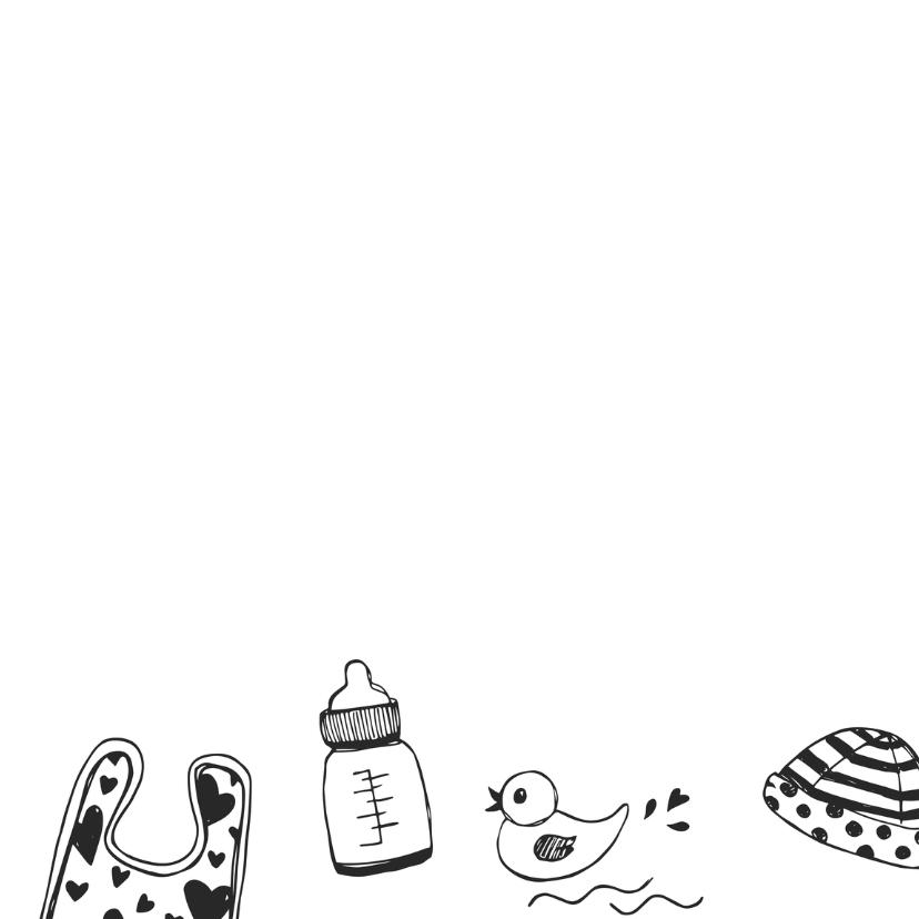 Zwanger felicitatie tekeningen 3