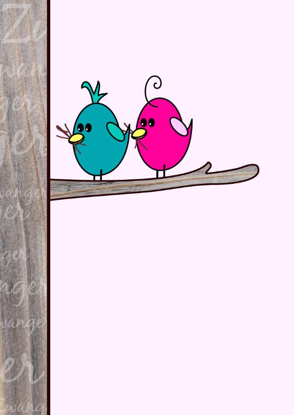 Zwanger Vogels en hun ei 2