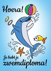 zwemdiploma dolfijn