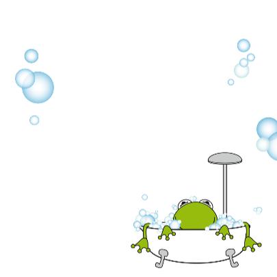 Zwemdiploma met kikkertje voor jongens 3