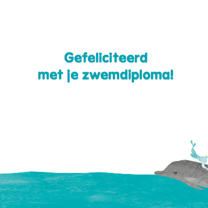 Zwemdiploma schildpad in de zee 3
