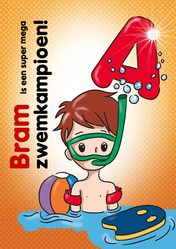 zwemkampioen A jongen