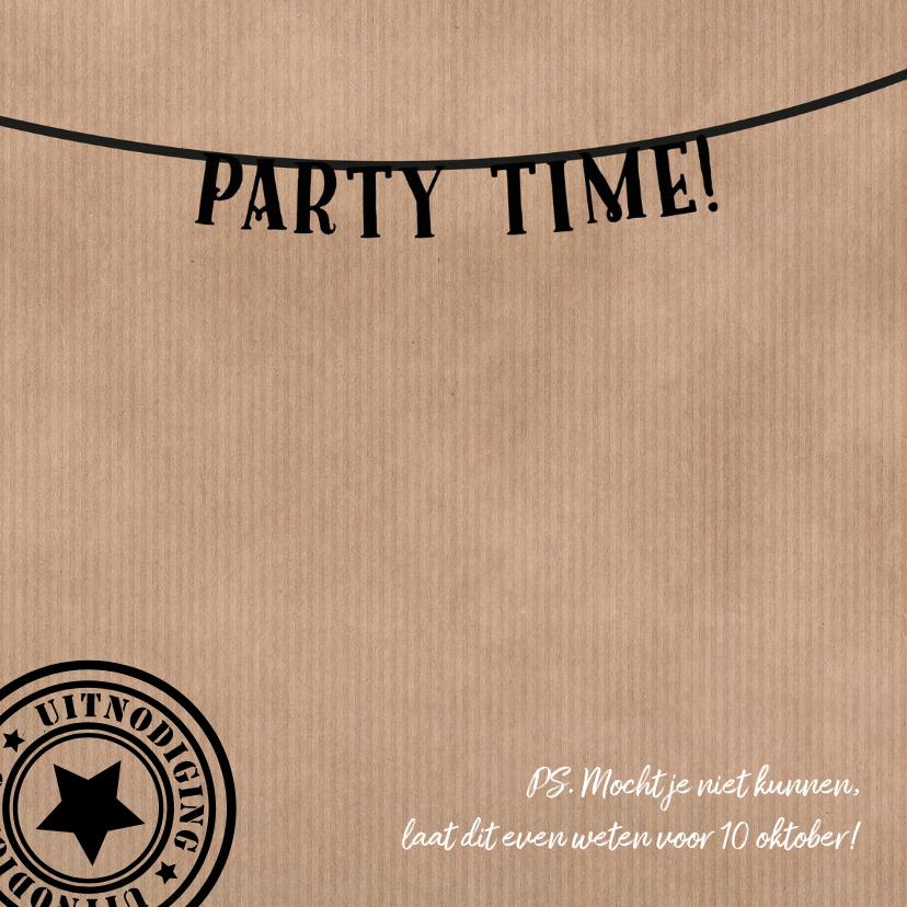 ZWK Uitnodiging feest - DH 2